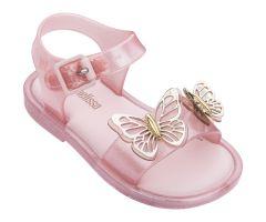 Mini Mar Sandal Butterfly Pink Glitter