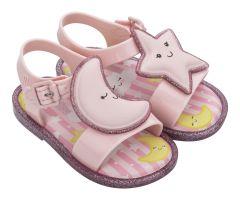 Mini Mar Sandal Sweet Dreams Pink Contrast