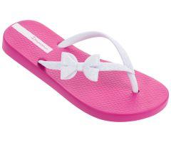 Kids Lolita Bow White Pink