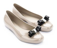 Aura Latte Bow | Melissa Shoes | NONNON