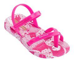 Baby Fashion Sandal 21 Bright Pink Kitty