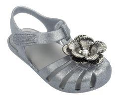 Baby Flower Pearl SP Silver Glitter