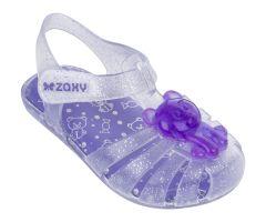 Baby Gummy Bear Lilac Glitter