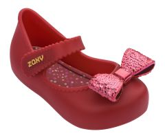 Baby Sparkle Bow Red