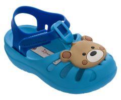 Baby Summer Wood Bright Blue Bear