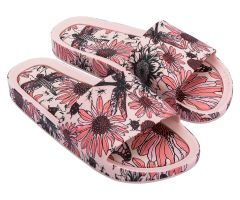 Beach Slide Print Blush Meadow