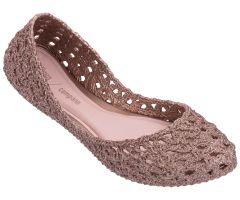 Campana Crochet Rose Glitter