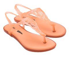 Campana Flow Sandal Orange Trans | Campana + Melissa Shoes | NONNON