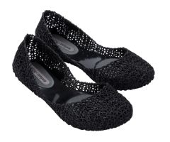 Campana Papel Black Glitter