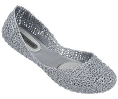 Campana Papel 21 Silver Glitter