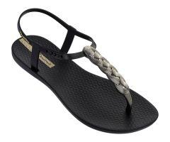 Charm Sandal 21 Black Braid