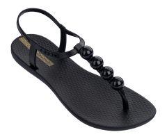 Charm Sandal 21 Black Pebble