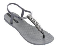 Charm Sandal 21 Silver Braid