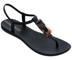 Class Sandal Buckle Black