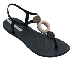 Class Sandal Hoop Black