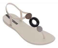 Class Sandal Hoop White