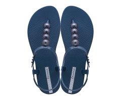 Class Sandal Pebble Navy Chrome