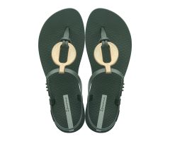 Class Vitta Sandal Dark Green