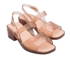 Cosmo Heel Nude Clear