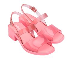 Cosmo Heel Pink Clear