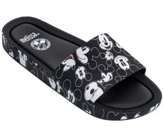 Disney Beach Slide Black Mickey