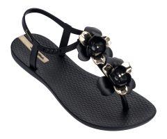 Floral Sandal Special Black