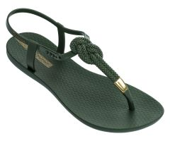 Glam Nautical Sandal Khaki