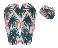 I Love Sun Pink Palm