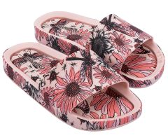 Kids Beach Slide Print Blush Meadow