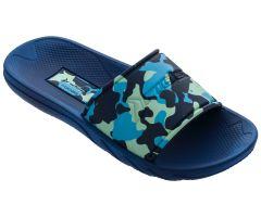 Kids Camo Slide Blue