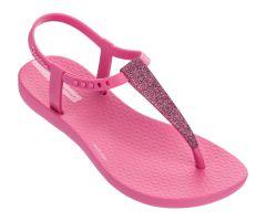 Kids Charm Glitter Sandal 21 Pink