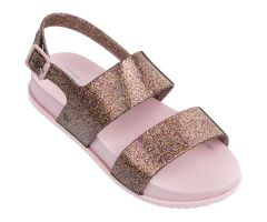 Kids Cosmic Sandal Rose Glitter