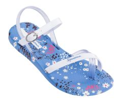 Kids Fashion Sandal 21 White Flower