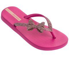 Kids Lolita Glitter Pink Bow