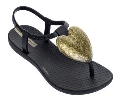Kids Love Sandal Black Gold