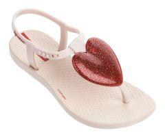 Kids Love Sandal Cream Red
