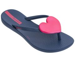 Kids Maxi Heart Navy Pink