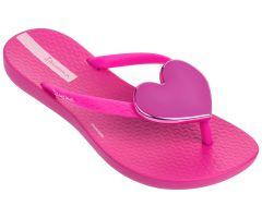 Kids Maxi Heart Bright Pink