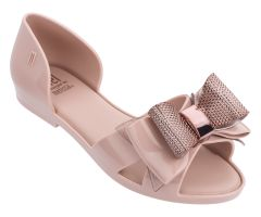 Kids Seduction Metallic Bow Blush