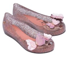 Kids Ultragirl Butterfly Pink Multi Glitter