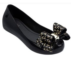 Kids Ultragirl Luxe Bow Black