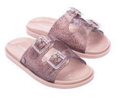 Kids Wide Pink Glitter