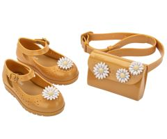 Kids Classic Daisy with Bag Mustard