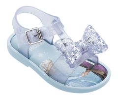 Mini Disney Frozen Mar Glass Shimmer Frost Bow