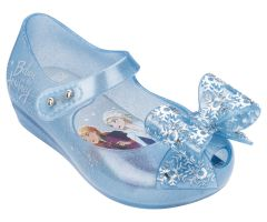 Mini Disney Frozen Ultra Sky Glitter Frost Bow