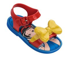 Mini Mar Snow White Sandal Red Contrast