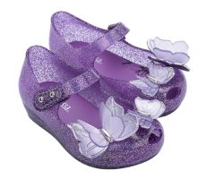 Mini Ultragirl Butterfly Purple Glitter