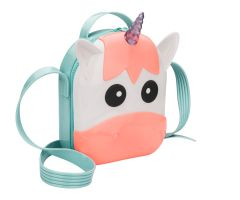 Mini Unicorn Bag Coral Contrast