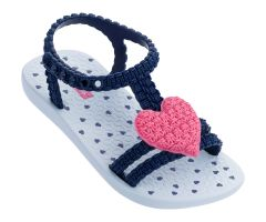 Baby My First Ipanema Heart 21 Navy Pink