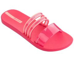 New Clear Slide Bright Pink